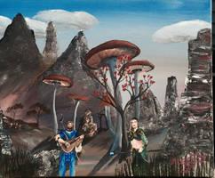 Doo's in Morrowind. by kdrmickey