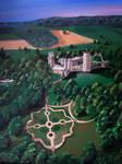Warwick Castle skyview