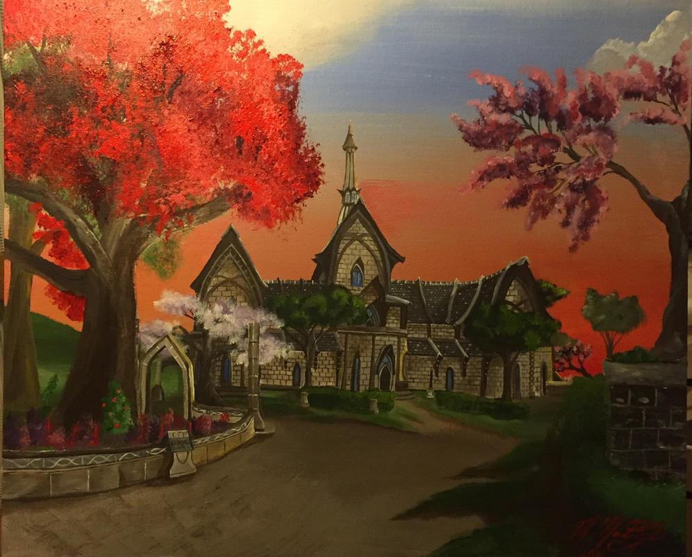 Vulkhel Guard Manor  by kdrmickey