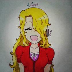 My first OC, Alina Heart :)
