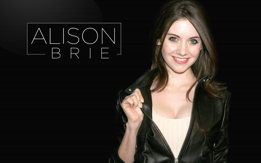 Alison Brie Wallpaper 1280px x 800px by papatom on DeviantArt