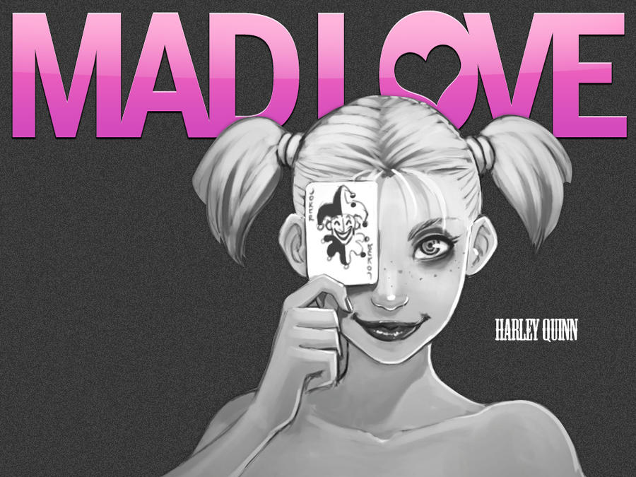 Harley Quinn U0027MAD LOVEu0027 Wallpaper [1024x By ...