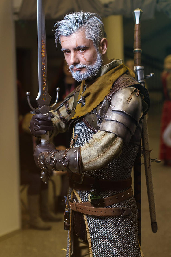 Witcher cosplay by RavenN1ght