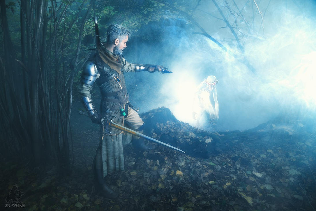 The Witcher cosplay by RavenN1ght