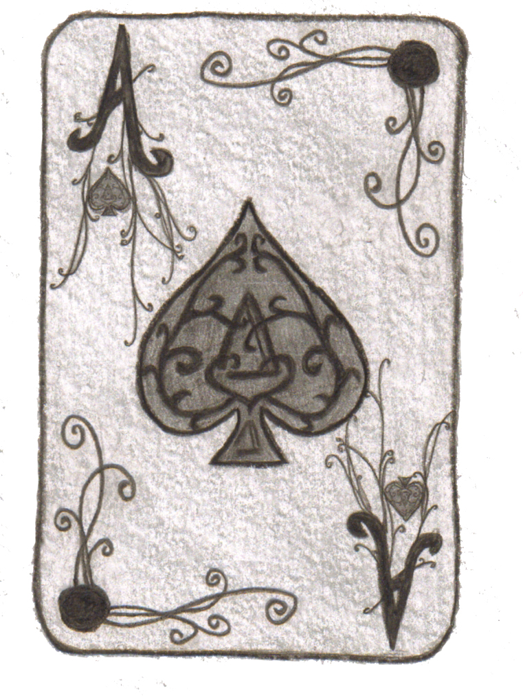 Ace of spades card final by minaalthea