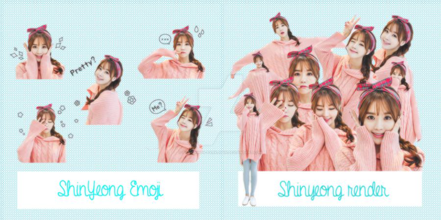 Share Render Pack - Emoji Pack by parkjiwon-parkjimin
