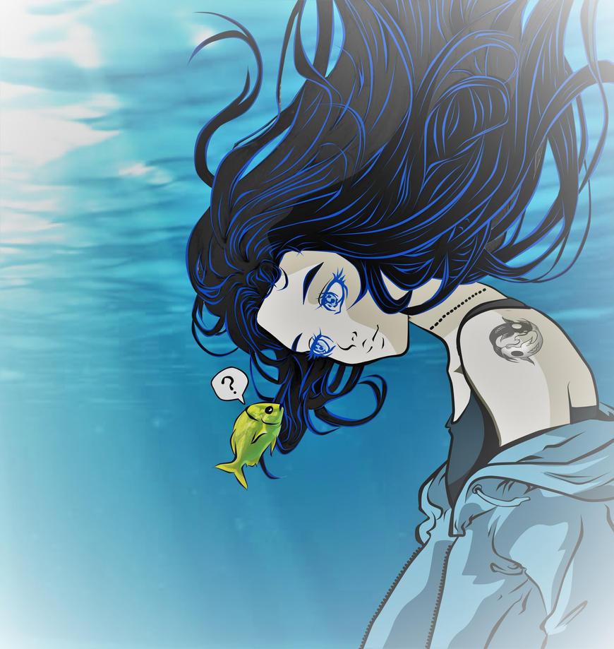 WATER you doin' in the Ocean by Reita697