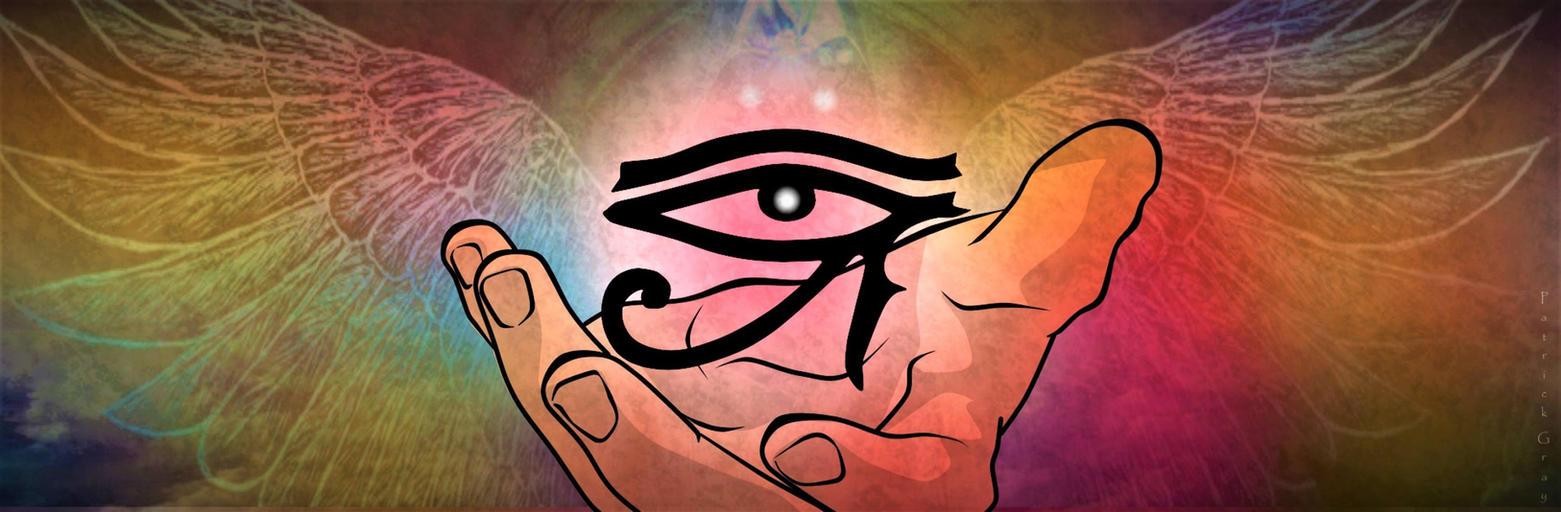 Symbolism in the Palm of a Deity by Reita697