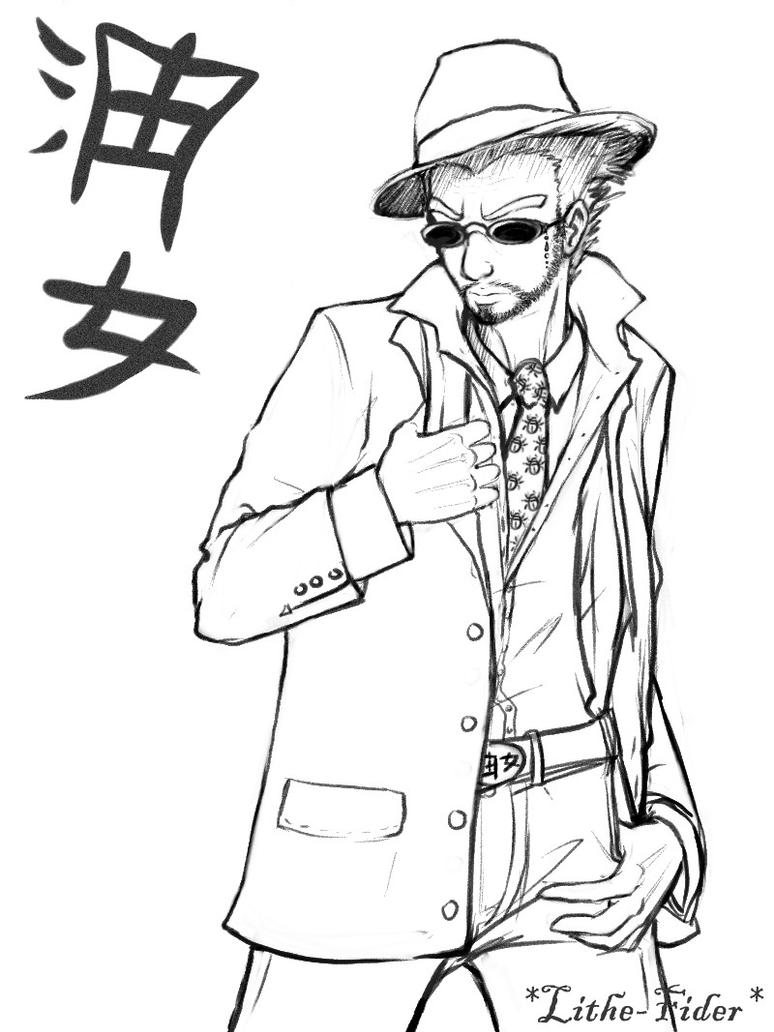 Pin Gangsta Coloring Pages On Pinterest Gangster Coloring Pages