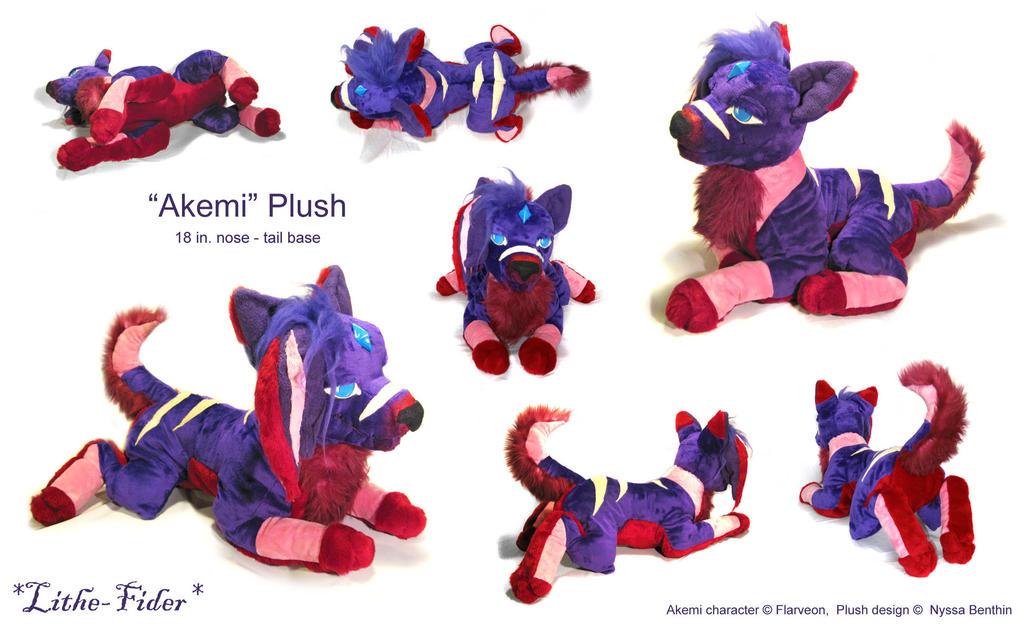 Akemi Plush by Lithe-Fider