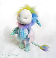 Jointed Plush Creature Leosoar by Lithe-Fider