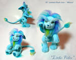 Jointed Blue Lion 'Mince'