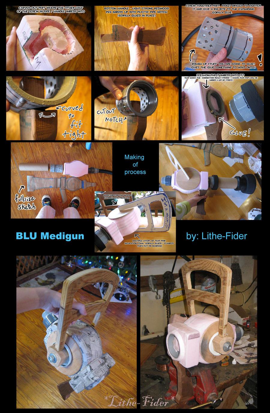 BLU Medic Medigun prop process by Lithe-Fider