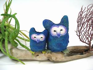 Tyto Owls plush pair