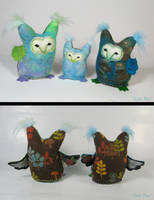 Byn Owlets by Lithe-Fider