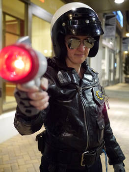 Bad Cop Cosplay - At Magfest 2015
