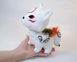 Chibiterasu Plush by Lithe-Fider