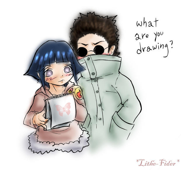 Shino 'n' Hinata lil by Lithe-Fider on DeviantArt