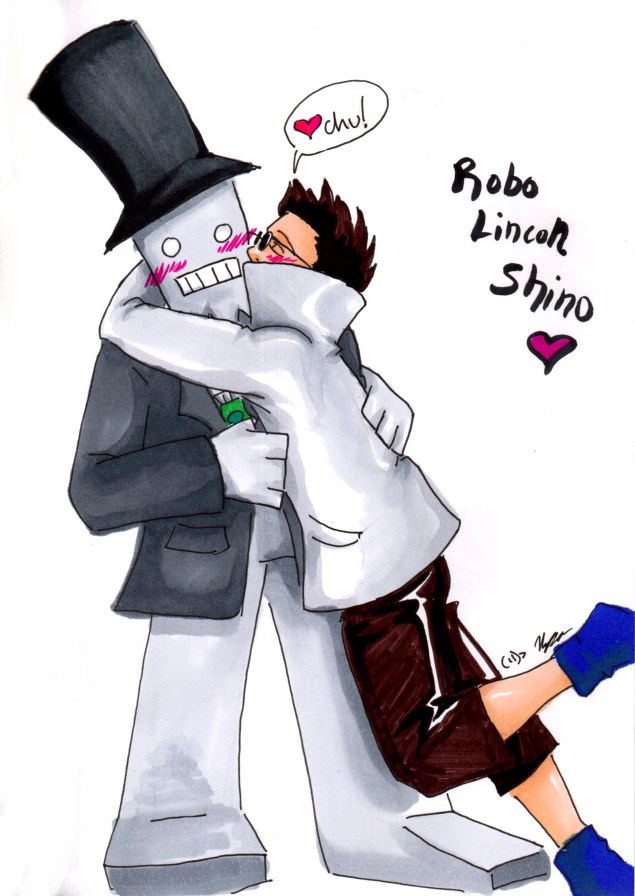 Robo Lincoln Shino Love by Lithe-Fider on DeviantArt