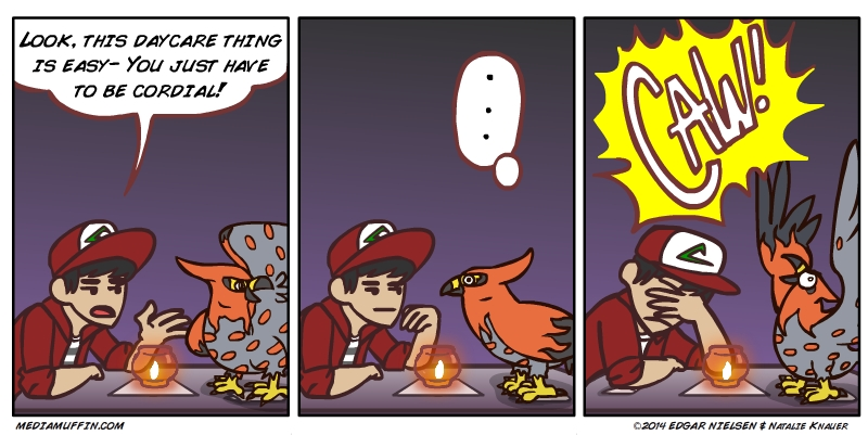 Pokemon - Tending the Flame by funymony