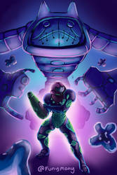 Metroid Fusion by funymony