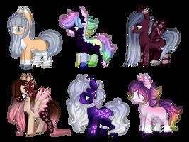 MLP Pony adoptables [3/6 OPEN]