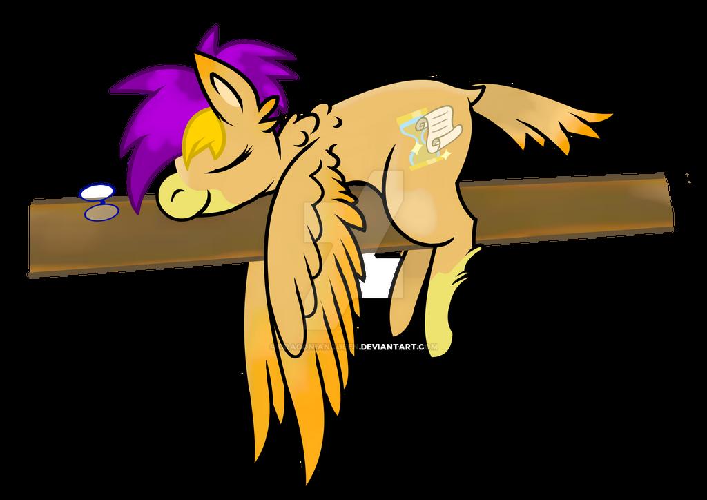 Skyla Sleeping by DraconianQueen