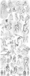 Human Gesture by Saremu