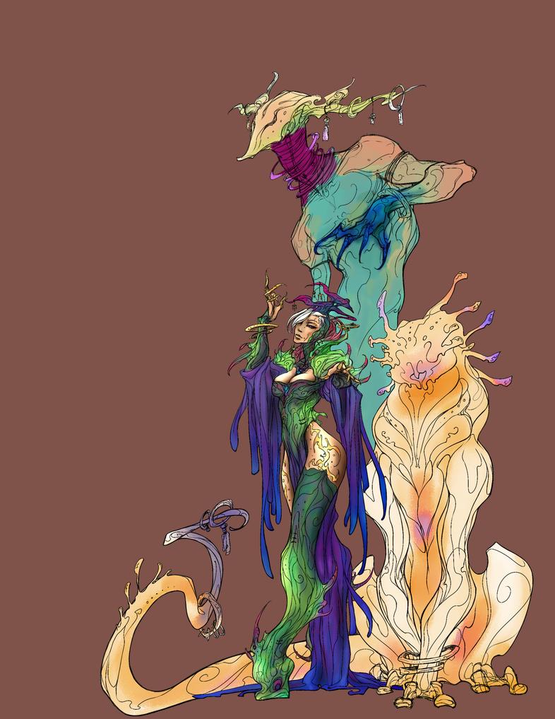 Summoner Color Concept by Saremu