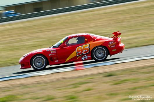 Lightning McQueen RX7 at Speed