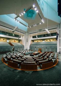 The halls of democracy