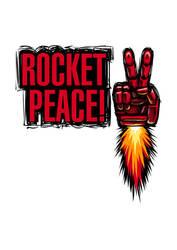 MGS - ROCKET PEACE! by purinrinrin