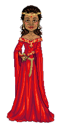 Queen Guinevere Pendragon by tiny-paper-stars