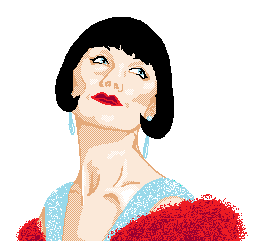The Honourable Miss Phryne Fisher by tiny-paper-stars