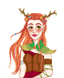 Critical Role: Keyleth by tiny-paper-stars
