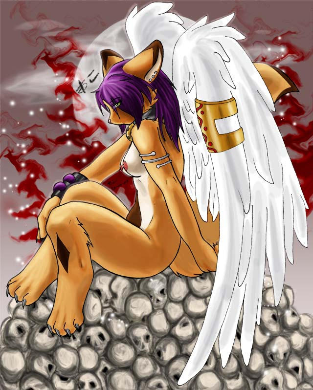 Demonic Angel by felinia