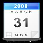 Free Calendar Icon PSD