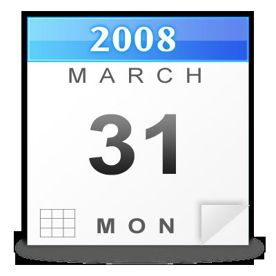 Free Calendar Icon PSD by rjoshicool