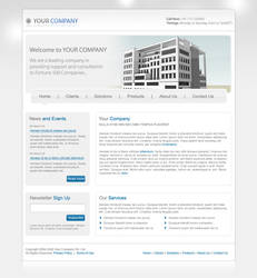 Your Company PSD Template