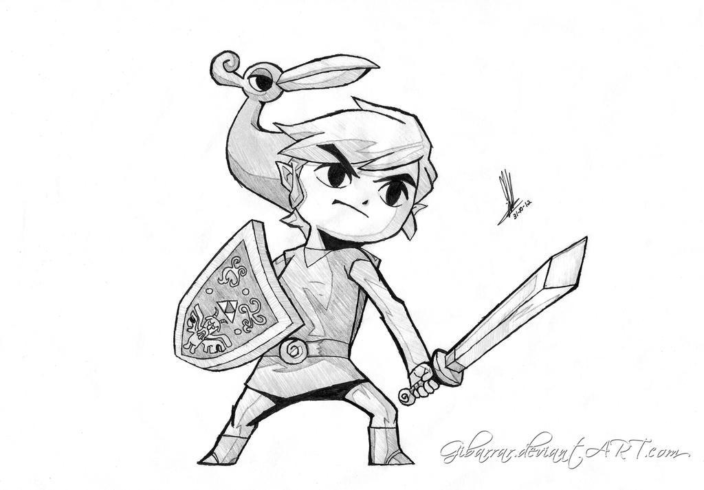minish cap coloring pages - photo#2