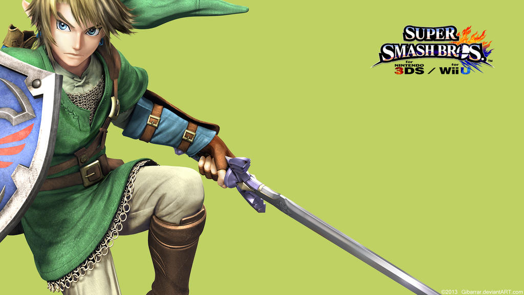 Ssb Link Link  Wallpaper Super Smash