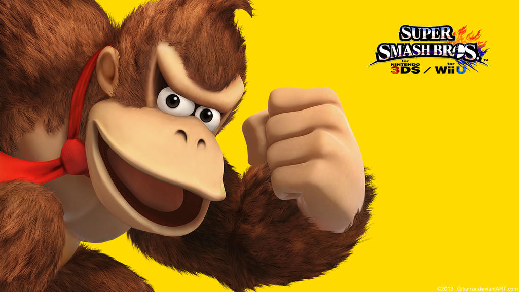 donkey kongwallpapersuper smash bros wii u3ds by