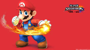 Mario 2 |Wallpaper| Super Smash Bros. Wii U/3DS
