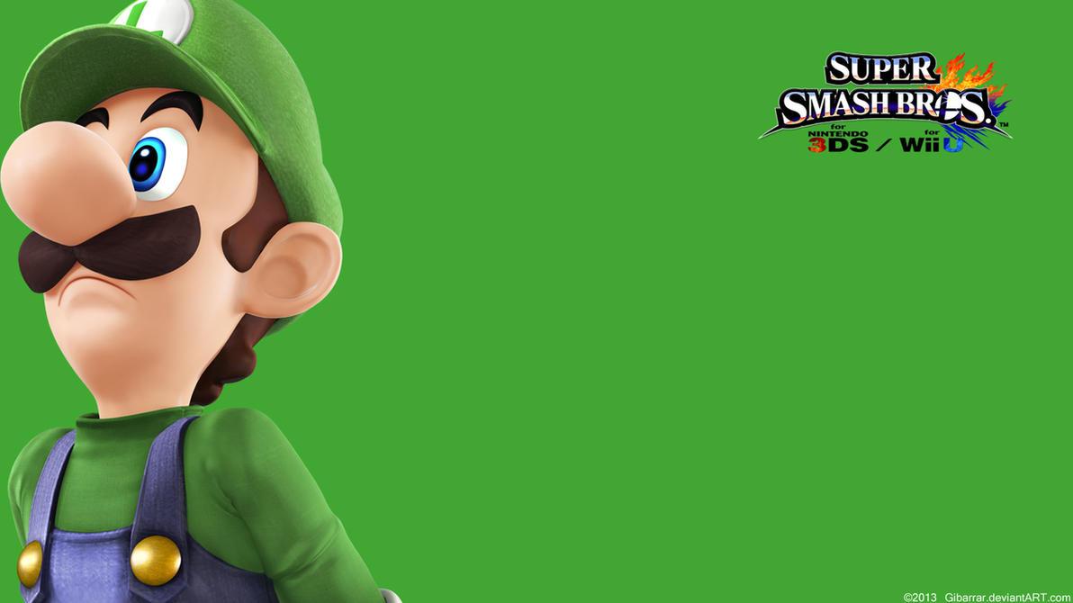 Luigi wallpaper super smash bros wii u3ds by gibarrar on deviantart luigi wallpaper super smash bros altavistaventures Gallery