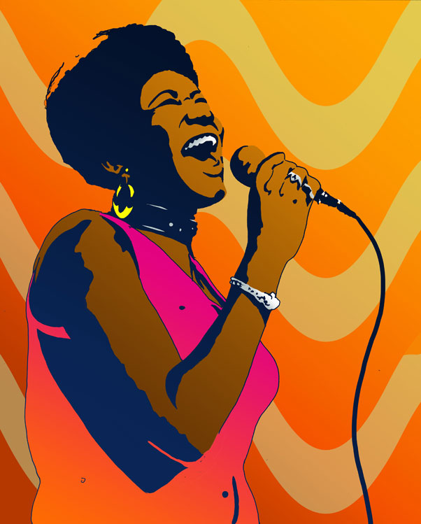 Queen of Soul by chronicdoodler