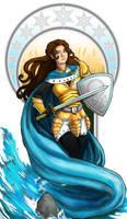 The Empress: Rowan tarot