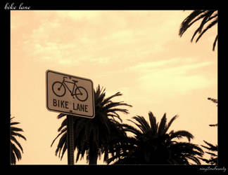 bike lane by sing2mebeauty