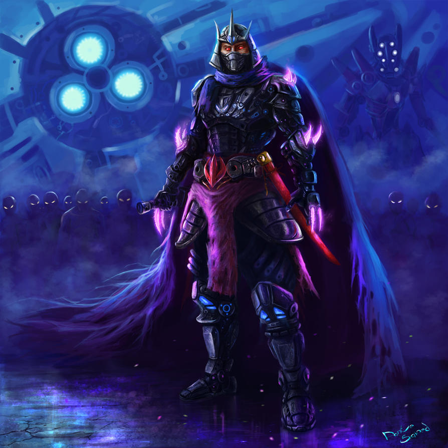Army of Shredder by DanteCyberMan