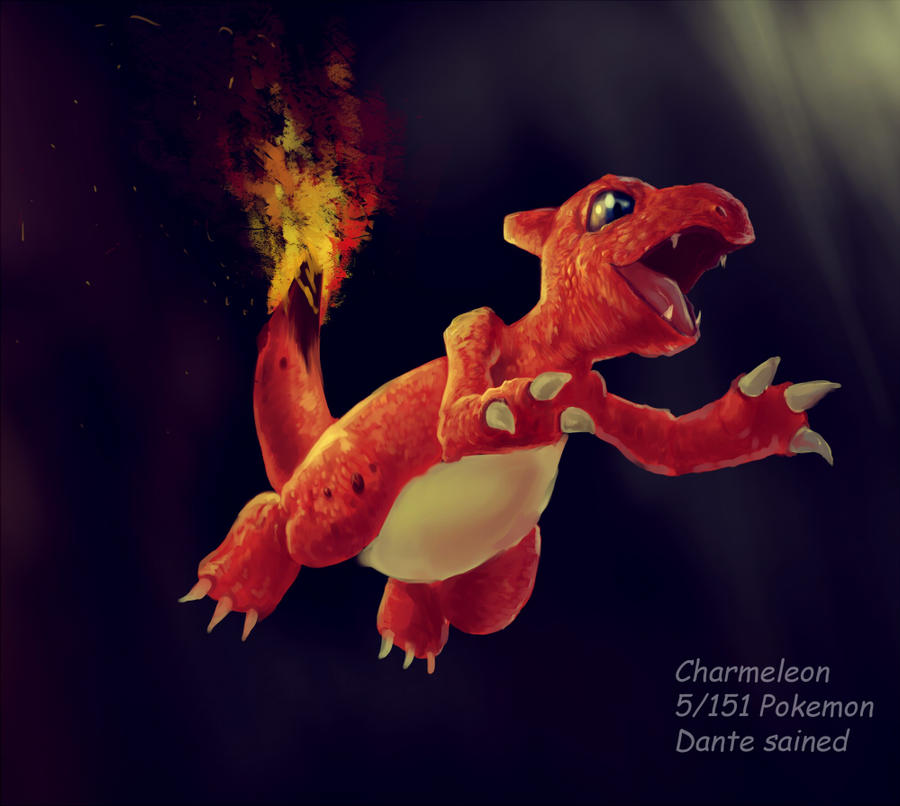 Charmeleon by DanteCyberMan