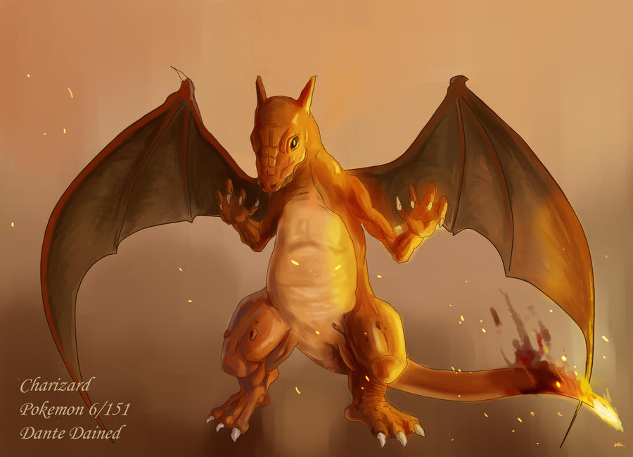 Charizard by DanteCyberMan
